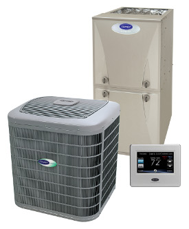 Carrier Furnace and air conditioner and thermostat