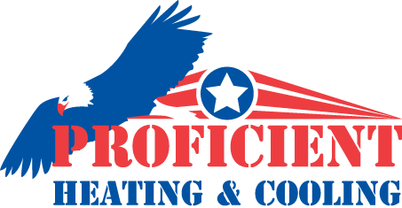Proficient Heating and Cooling Logo