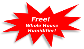 Free Humidifier with purchase of new furnace and air conditioner combo package