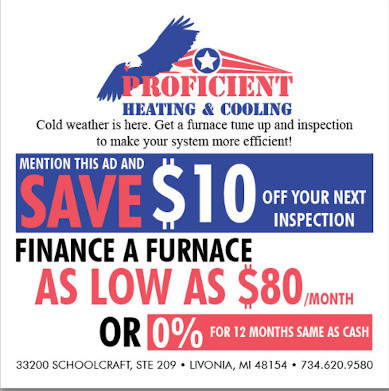 Fall furnace maintenance special
